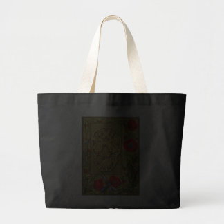 Webbed Skull Day of the Dead Halloween Gothic Tote Bag