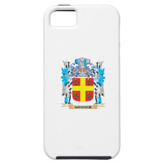 Webber Coat of Arms - Family Crest iPhone 5 Cover