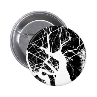 WEBBY TREE BLACK AND WHITE NEGATIVE BUTTONS