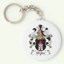 Weber Family Crest Keychain