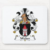 Weber Family Crest Mousepad