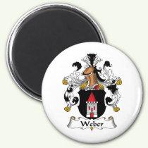 Weber Family Crest Magnet