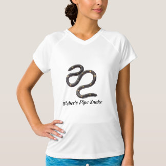 Weber's Pipe Snake Ladies  Micro-Fiber Sleeveless T-Shirt