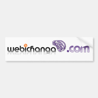 webichanga bumper sticker