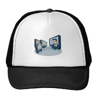 Webinar Video Conference Retro Trucker Hat