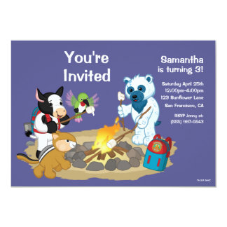 Webkinz | Campfire Marshmallows Card