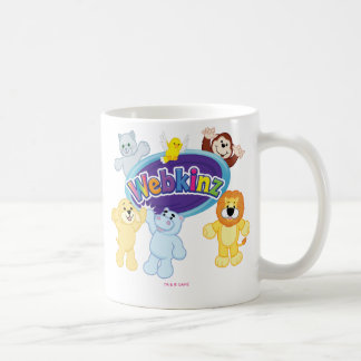Webkinz: Come In and Play Basic White Mug