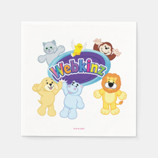 Webkinz: Come In and Play Paper Napkin
