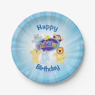 Webkinz: Come In and Play Paper Plate
