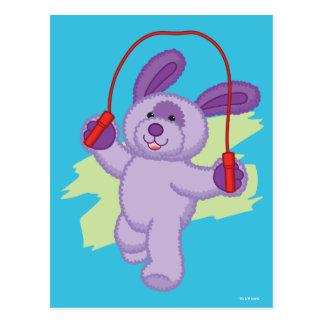 Webkinz | Grape Soda Pup Skipping Rope 2 Postcard
