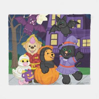 webkinz halloween trick or treat fleece blanket - Webkinz Halloween Costumes