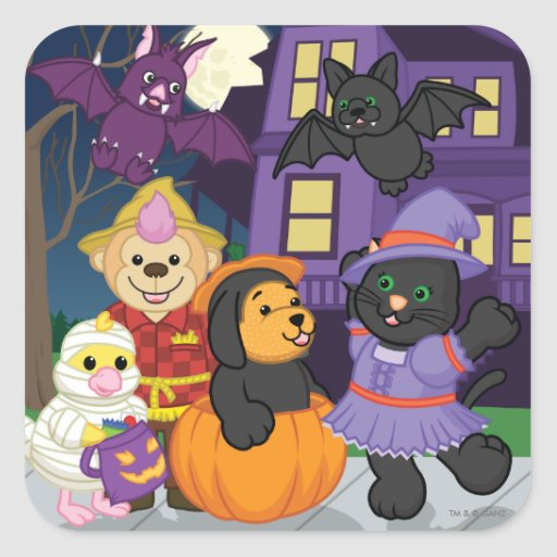 webkinz halloween coloring pages - photo#29