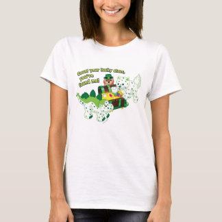 Webkinz Leprechaun Clover Cat Lucky Dino T-Shirt