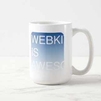WebKit is Awesome Mug