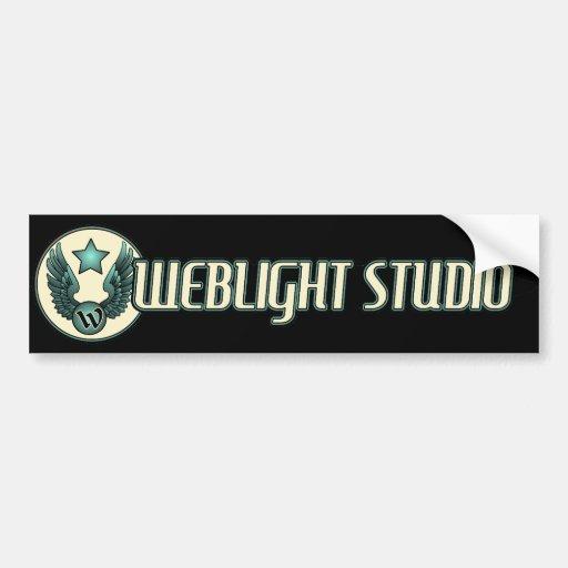 Weblight Studio Bumper Sticker