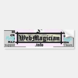 Webmagician Logo Bumper Sticker