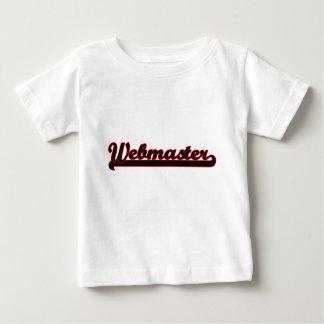 Webmaster Classic Job Design T-shirt