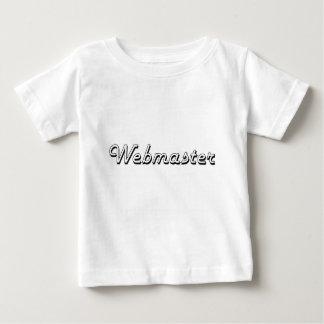 Webmaster Classic Job Design Tshirt