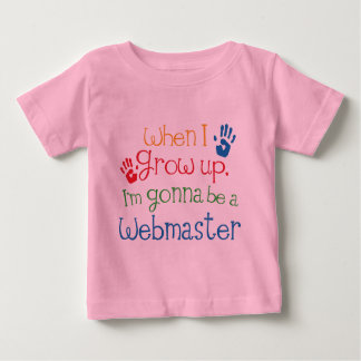Webmaster (Future) Child T-shirt