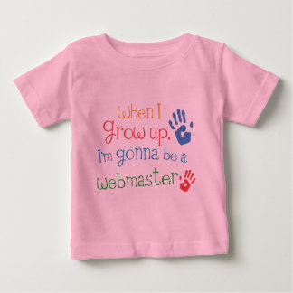 Webmaster (Future) Infant Baby T-Shirt