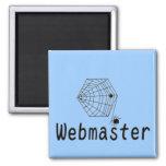 webmaster. imán de frigorifico