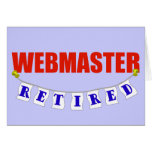 Webmaster jubilado tarjetón