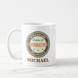 Webmaster Personalized Office Mug Gift
