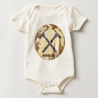 Webnuggetz Circle Logo Gifts Baby Bodysuit