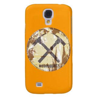 Webnuggetz Circle Logo Gifts Galaxy S4 Case