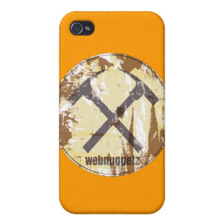 Webnuggetz Circle Logo Gifts iPhone 4/4S Covers