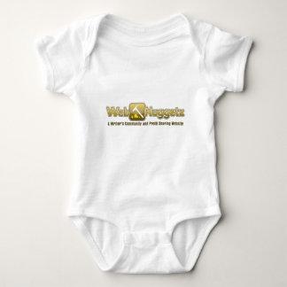 Webnuggetz logo baby bodysuit