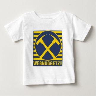 Webnuggetz Logo Blue Axes Baby T-Shirt