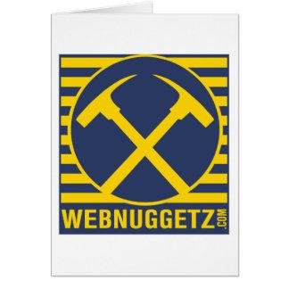 Webnuggetz Logo Blue Axes Card