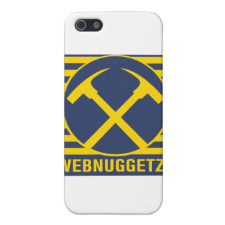 Webnuggetz Logo Blue Axes iPhone 5 Cover