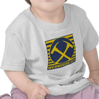 Webnuggetz Logo Blue Axes T-shirt