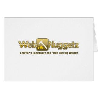 Webnuggetz logo card