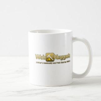 Webnuggetz logo coffee mug