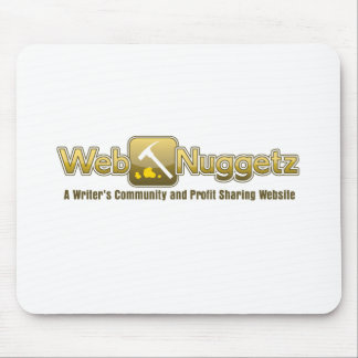 Webnuggetz logo mouse pad