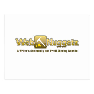 Webnuggetz logo post cards