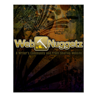 Webnuggetz Logo Poster 1 Posters