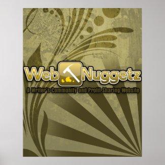 Webnuggetz Logo Poster 4 print