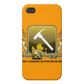 Webnuggetz Logo Version 5 iPhone 4 Cover