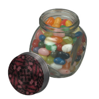 Webs and Coffins Glass Candy Jars