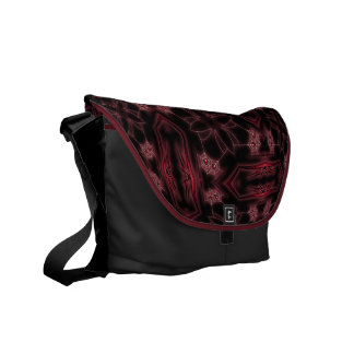 Webs and Coffins Messenger Bags