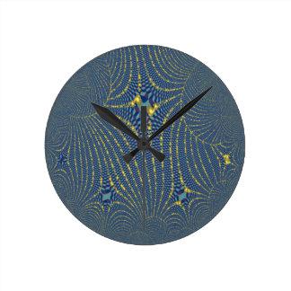 Webs Round Clock