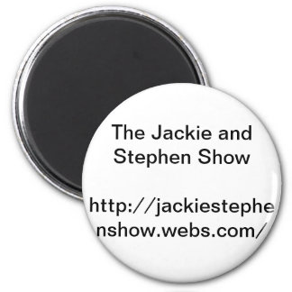 Webshow button 2 inch round magnet