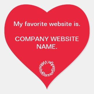 Website Banner Sticker Badge