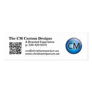 Website Cards Mini Business Card