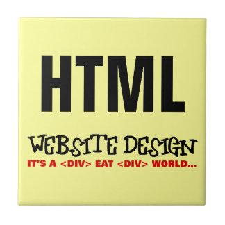 Website Design is an Eat or be Eaten Industry Ceramic Tile