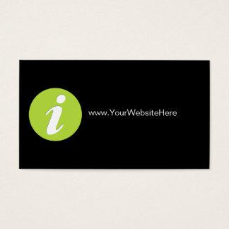 Website Marketing Business Cards